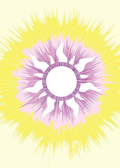 A Tangled Sunburst by bethscherm
