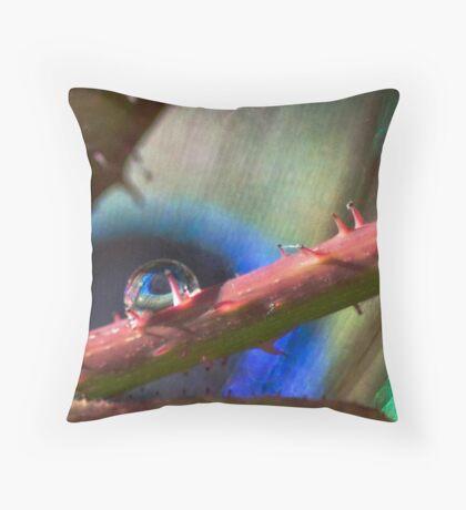 Nature's Eye Throw Pillow