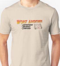 WORST ADVENTURERS - Slogan (english) Unisex T-Shirt