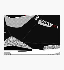 info for 06984 4b260 Made in China III Black Cement Size US 9.5 - Pop Art, Sneaker Art