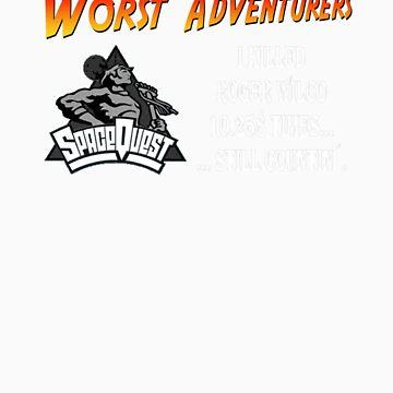WORST ADVENTURERS - Roger Wilco by haegiFRQ