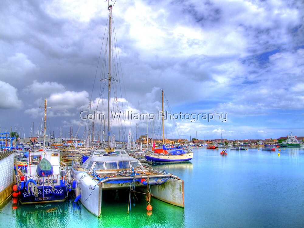 Shoreham Harbour West Sussex - HDR by Colin  Williams Photography