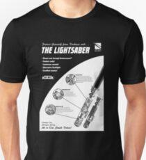 Star Wars Lightsaber Retro Ad T-Shirt