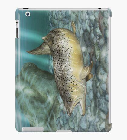 River Brown iPad Case/Skin