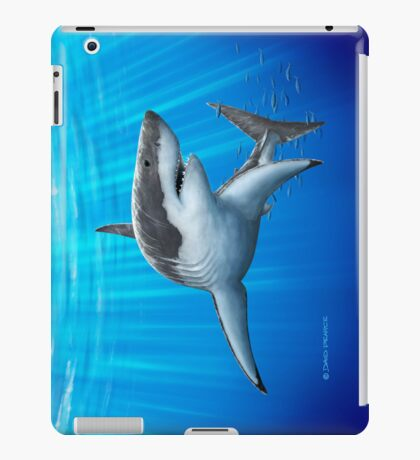 Blue Predator iPad Case/Skin