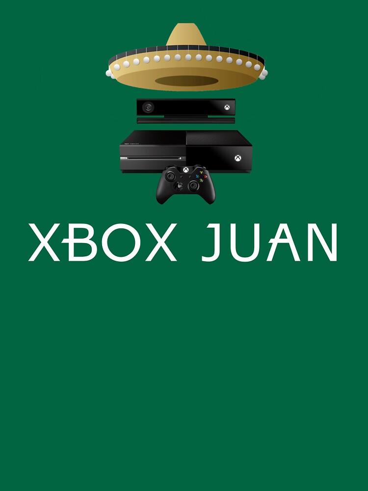 Xbox Juan - Coloreado de VladTeppi