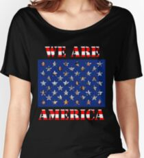 We are America Women's Relaxed Fit T-Shirt