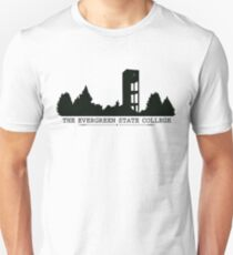 The Evergreen State College Clock Tower Unisex T-Shirt