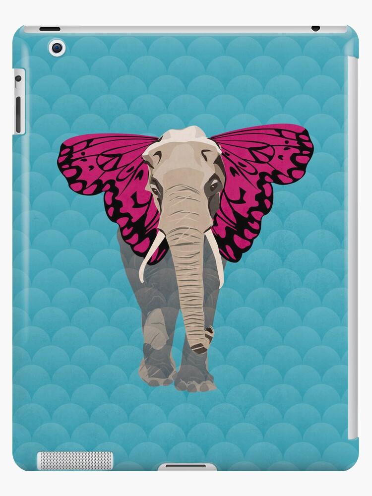 Elephant Butterfly by Wyattdesign