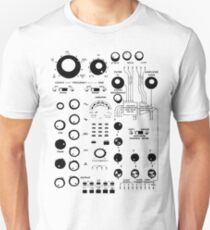 ANALOGUE SYNTHESIZER #1 Unisex T-Shirt