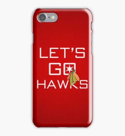 Let's Go Hawks iPhone Case/Skin