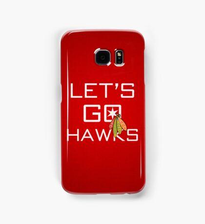 Let's Go Hawks Samsung Galaxy Case/Skin