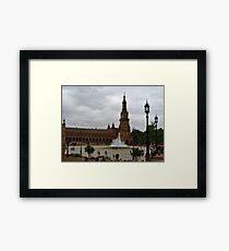Plaza de España Framed Print