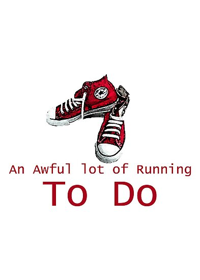 A lot of Running to Do. by Caffrin25