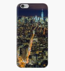 Vinilo o funda para iPhone Downtown Manhattan