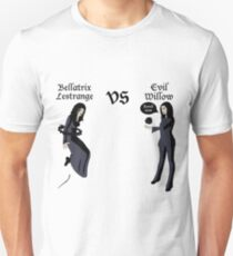 Evil Willow VS Bellatrix Lestrange Unisex T-Shirt
