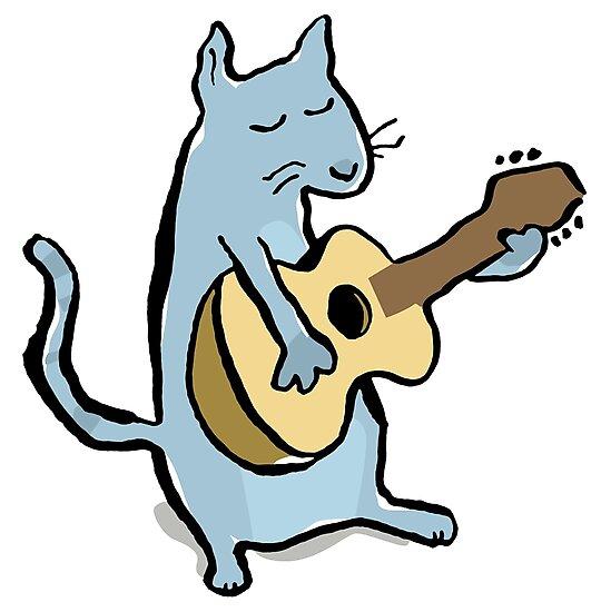 cat serenade by greendeer