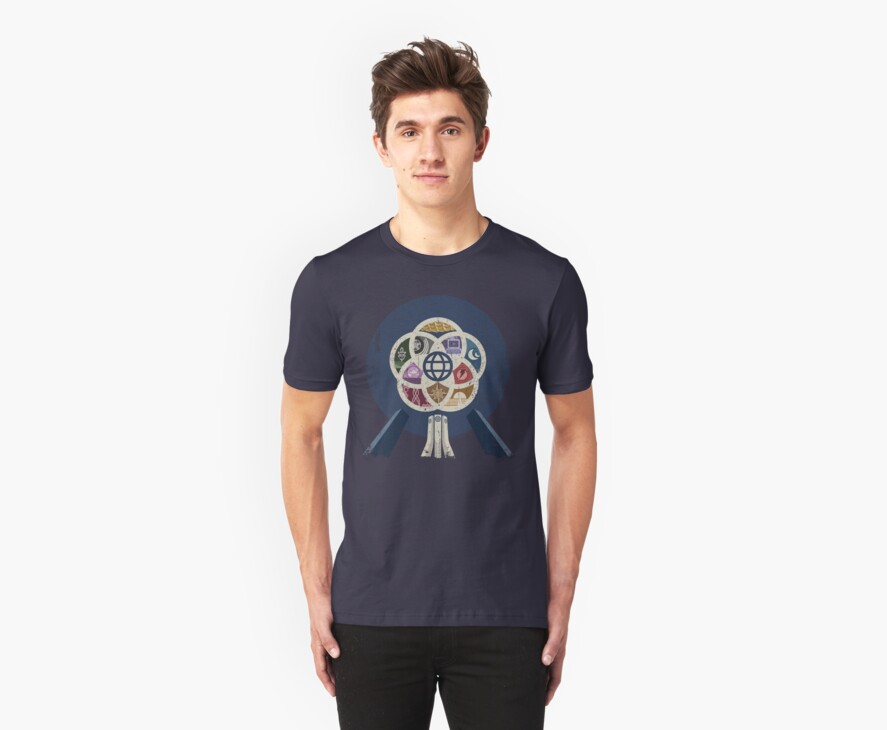 EPCOT Center iPhone and TShirt by scbb11Sketch