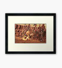 Battle of Geonosis Framed Print
