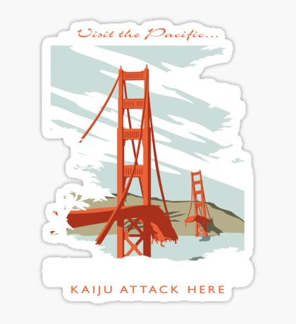Visit the Pacific Sticker
