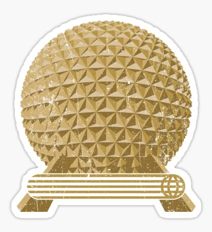EPCOT Icon: SE Sticker