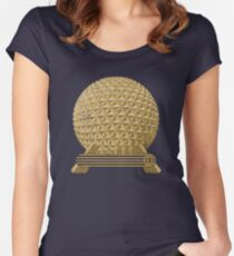 EPCOT Icon: SE Women's Fitted Scoop T-Shirt