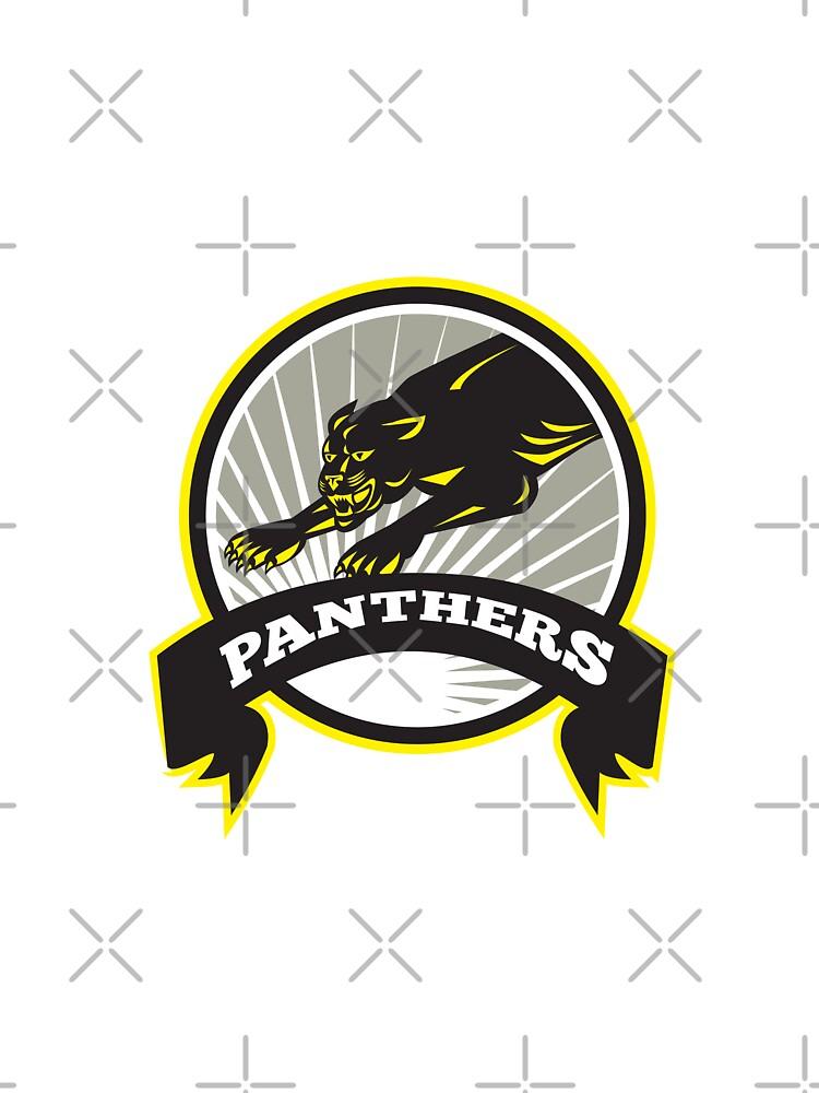 Panther Big Cat Growling by patrimonio