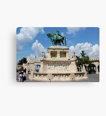 Budapest - The Fisherman's Bastion Leinwanddruck