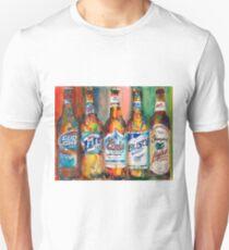 Bud light Miller Lite Coors Light Busch Light Yuengling Light Combo Beer Art Print Unisex T-Shirt