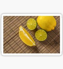 Lemons and limes Sticker