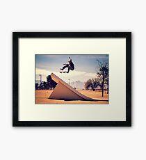 Ray Barbee - 360 Flip Framed Print