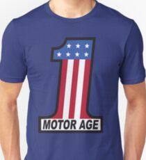 Motor Age American Flag 1 Unisex T-Shirt