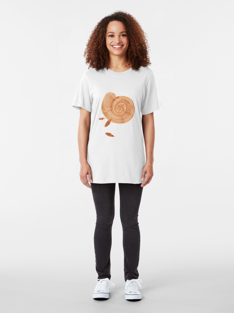 Alternate view of Shells Pattern Slim Fit T-Shirt