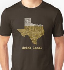 Drink Local (TX) Slim Fit T-Shirt