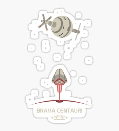 Brava Centauri Sticker