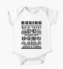 BSG Boxing Card One Piece - Short Sleeve