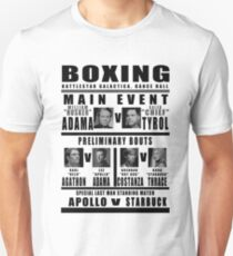 BSG Boxing Card T-Shirt