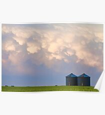 Mammatus Country Landscape Poster