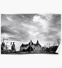 Chateau Laurier Hotel Poster
