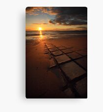 Sunset at Coronet Bay Canvas Print
