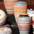 Santa Fe Pottery by Frank Romeo