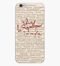 Vinilo o funda para iPhone Citas de Grantaire + Vive la République