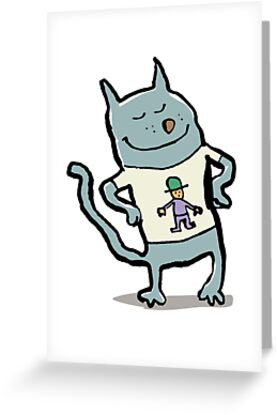 nice t-shirt, eh? by greendeer