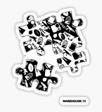 Warehouse 13 Items Puzzle Sticker