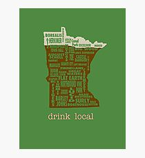 MN Drink Local Photographic Print