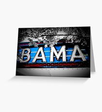 Bama Theater Greeting Card