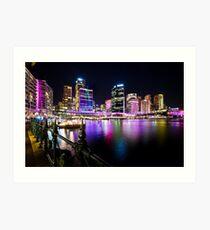 Sydney's Vivid Festival, 2013 III Art Print