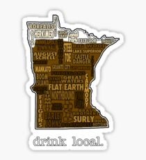 Drink Local (MN) Sticker