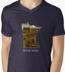 Drink Local (MN) Men's V-Neck T-Shirt