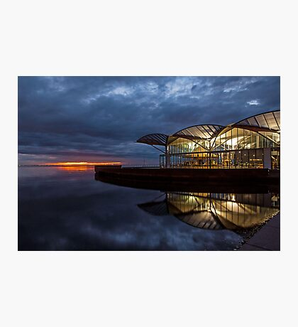 Dawn Waterfront Photographic Print
